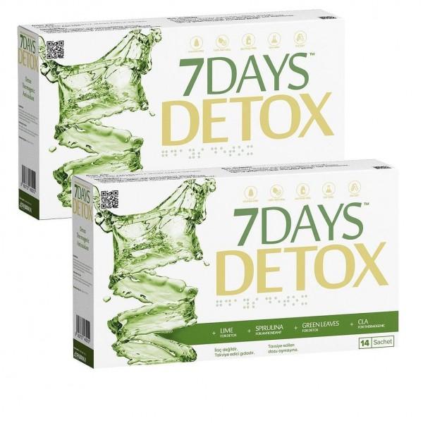 7 Days Detox × 2 Kutu Aynı Gün Ücretsiz Kargo