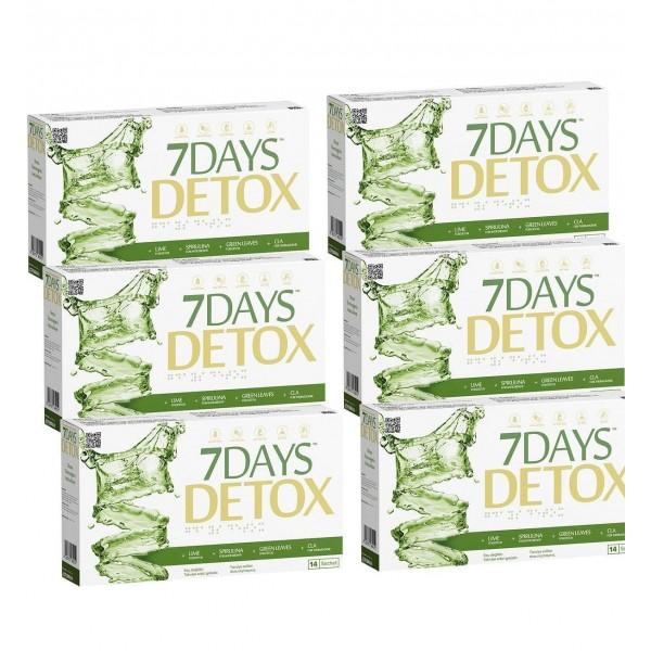 7 Days Detox × 12 Kutu AVANTAJLI PAKET