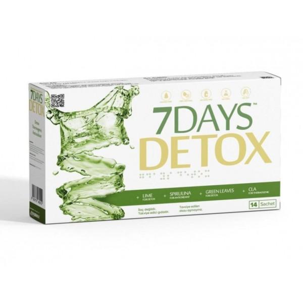7 Days Detox Aynı Gün Ücretsiz Kargo