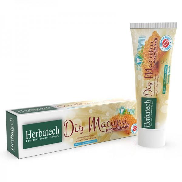Herbatech Propolis Özlü Diş Macunu / Beyazlatma 120 ml