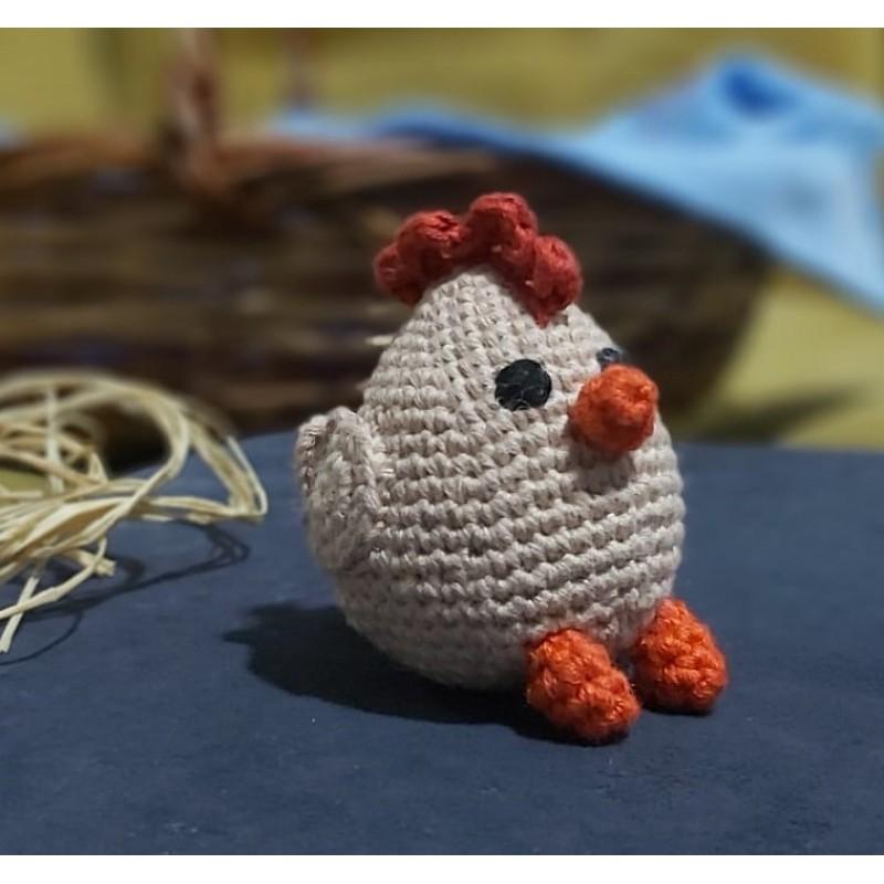 Amigurimi Tavuk 10 x10 cm Altı (Kargo Ücretsiz)