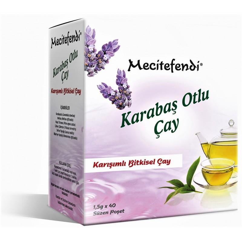 Mecitefendi Karabaş Otlu Çay 40 lı Süzen Poşet