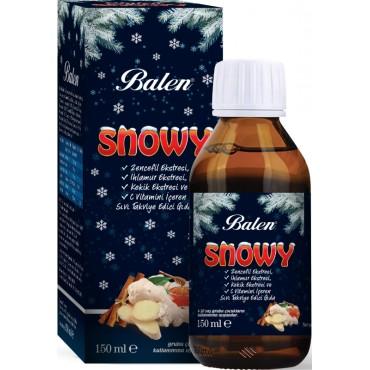 Balen Snowy Kış Şurubu Zencefil Ekstresi, Ihlamur Ekstresi, Kekik Ekstresi Ve C Vitamini İçeren Sıvı Takviye Edici Gıda