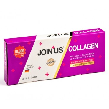 Join Us Collagen Sıvı Takviye Edici 25 ml 10 Adet