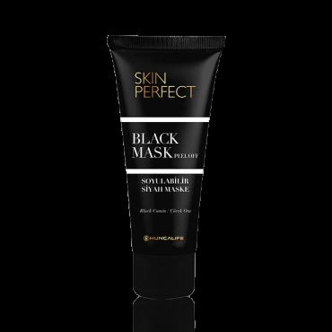 Hunca Life Skin Perfect / Soyulabilir Siyah Maske 100 ml