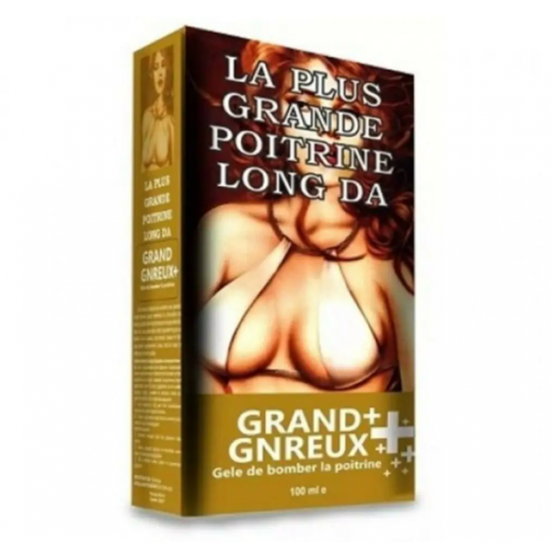 Grand Gnreux Plus Gögüs Bakım Kremi 100 ml / Grand Gnreux Plus Long La Gögüs Büyütücü ve Şekillendirici Krem
