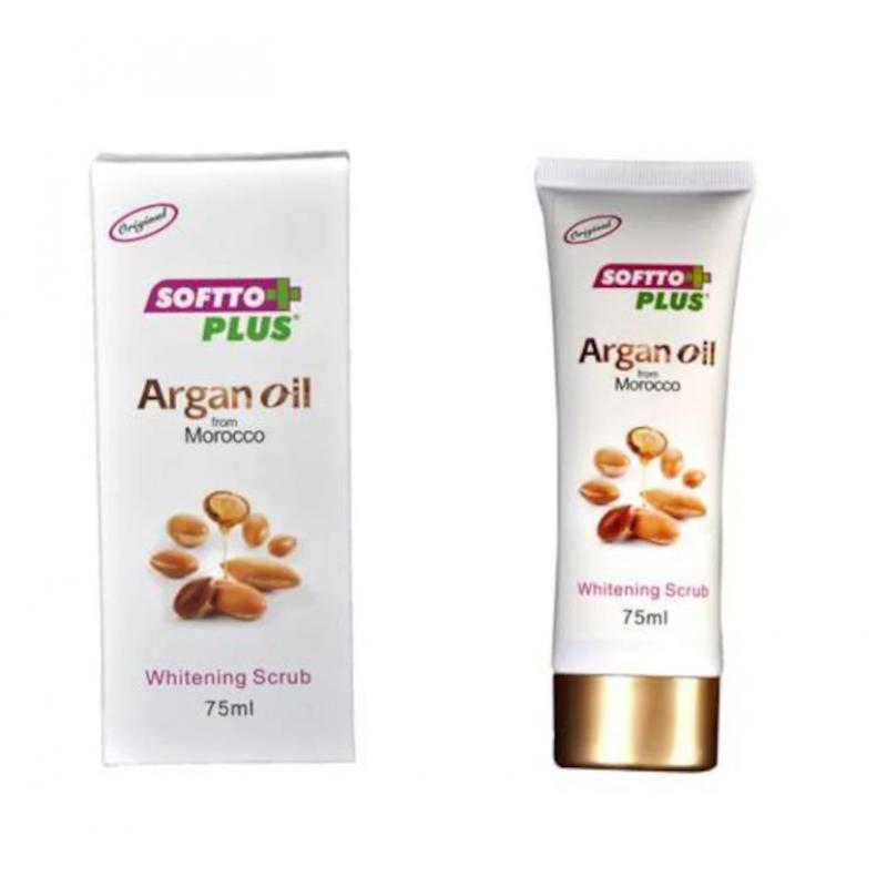 Softto Plus Argan Yağlı Arındırıcı Peeling 75 ml