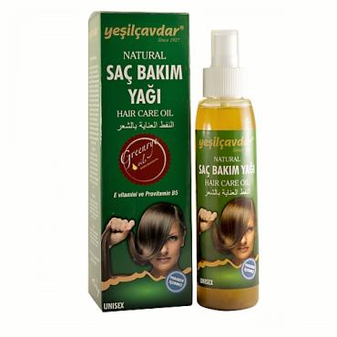 Yeşilçavdar Saç Bakım Yağı 125 ml