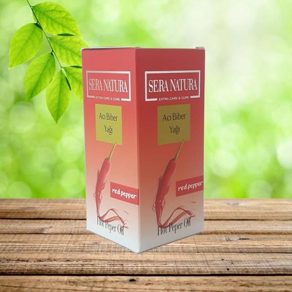 SERA NATURA Acı Biber Yağı (Soğuk Pres) 50 ml