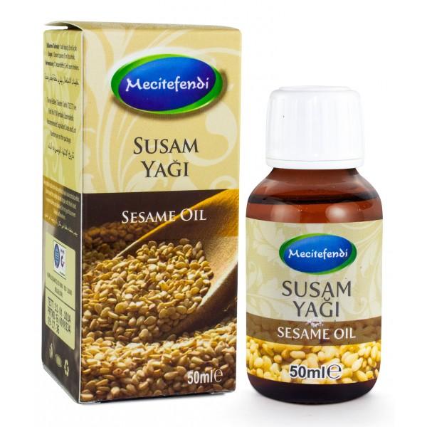 Mecitefendi Susam Yağı 50 ml (Soğuk Sıkım)